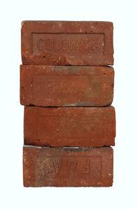 "Historical Bricks ""from Hudson River in Poughkeepsie"" (Back)"