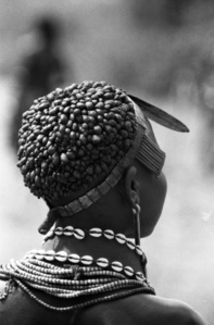 Ethiopia - Hamar Mud Hair Girl