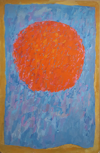 Untitled (Orange Moon)