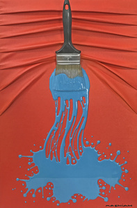 Let's Paint Red & Blue