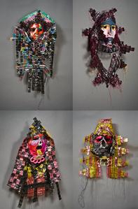 Knuckle Duster Masquerade (4 masks set)