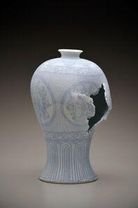 Maebyeong Vase with Peonies