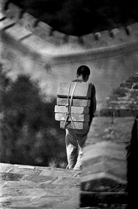 Maintenance the Badaling Great Wall