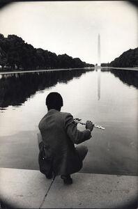 The Reflecting Pool, Washington Monument, Poor Peoples Campaign, Washington, D.C.