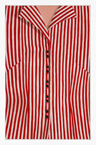 Striped Blouse (Red)