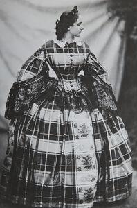La Comtesse de Castiglione - La robe écossaise