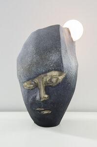 Face, Rock, Moon