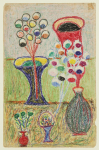 Untitled (Still Life with Vases)