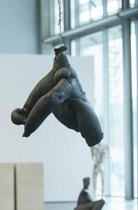 Hängender Rollkragenpullover