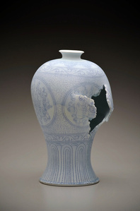 Maebyeong Vase with Peonies