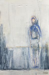 Blue Figure I