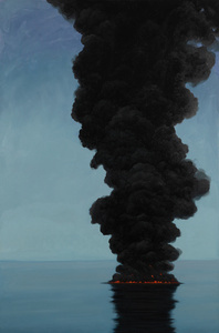 SHELL (EXPLOSION PAINTINGS SERIES)