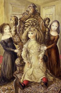 Poupée et petites filles