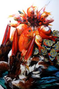 Arrangement with Goldfish