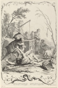 Moses Striking a Shepherd