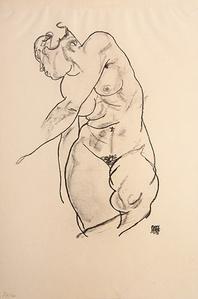 Stehender weiblicher Akt (Standing Female Nude)