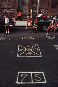 Skeely Street Game, Spanish Harlem, NY