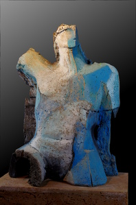 Le bain bleu (The blue bath)