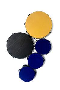 Yellow Ochre, Lamp Black, Cobalt Blue