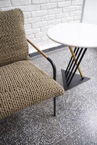 TREVO armchair - PLAY side table