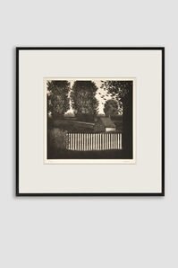 The Small Picket Fence Mezzotint by Robert Kipniss