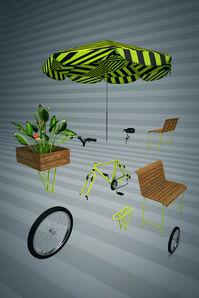 Bike dissecada 3D