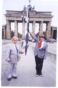 B, Brandenburg Gate, Berlin, 1997