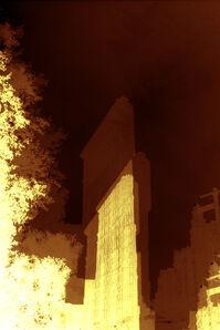 Yellow Flatiron Building