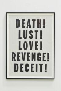 Death Lust Love Revenge Deceit