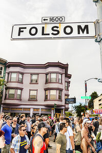 Folsom Street Fair ,BDSM  Leather Event #1