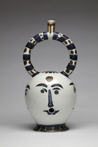 Aztec Bong with Four Faces (After Picasso)