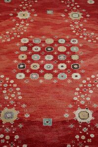 Rug - Red Flowerbed