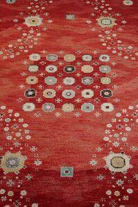 Rug - Red Flowerbed