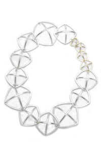 Crystal Structure Neckpiece - Salt