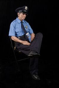 Seated guard