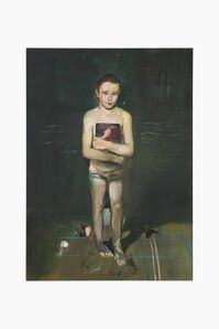Self as young swimmer