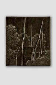 Bronze Bas Relief (Small Landscape)