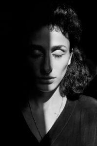 Rosaria Schifani, widow of  Vito, Palermo 1993