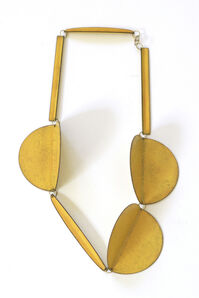 Collier 3 Circles (yellow)