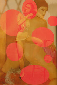 Alice with Ovals (after Balthus)
