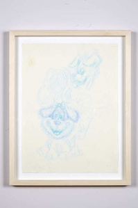 Untitled (Blue Dogs)