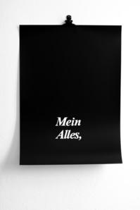 'Mein Alles' ('Mio tutto')