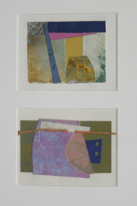 Collage #76 & #79 (diptych)