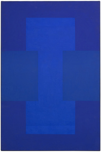 Untitled (Blue-Purple Painting)