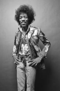Jimi Hendrix: He Smiles