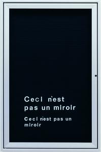 Untitled (Ceci n'est pas un mirror)