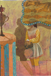 Untitled (Girl with trophy)