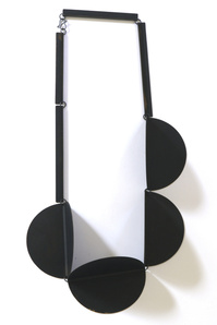 Collier 4-Circles (black)