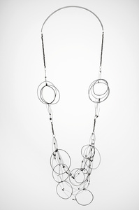 Tangled circles 4, Necklace