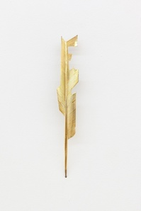 untitled (feather, x)